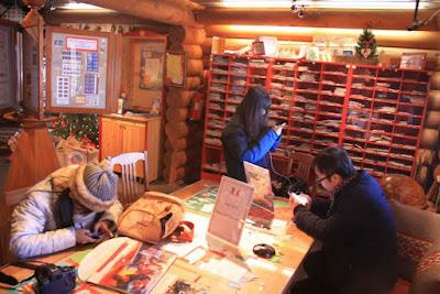 Post Office in Santa Claus Village