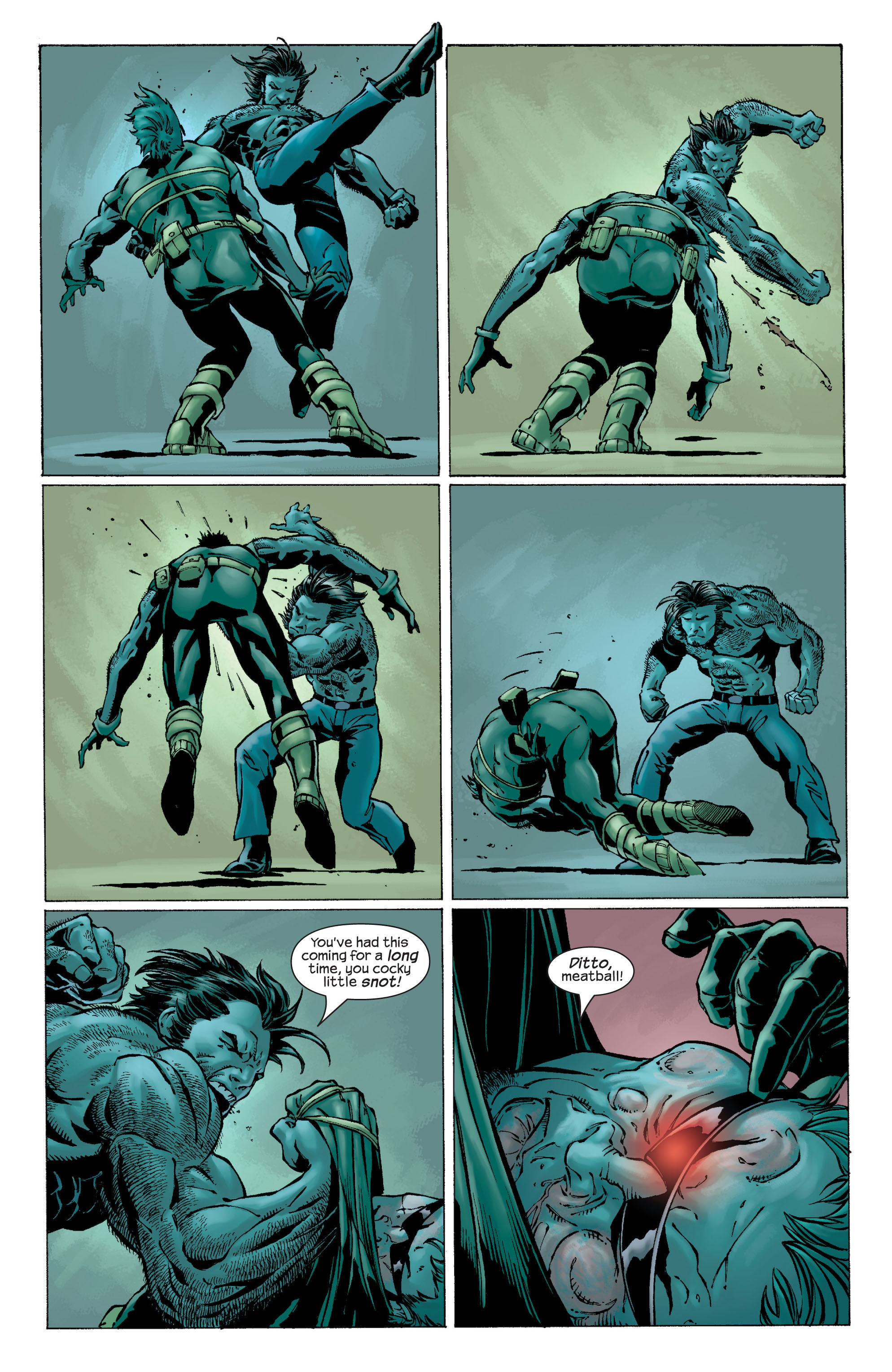 Read online Ultimate X-Men comic -  Issue #22 - 17