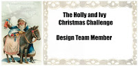DT The Holly And Ivy Christmas Challenge