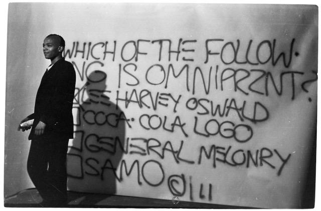 Jean-Michel Basquiat in una foto di Anton Perich