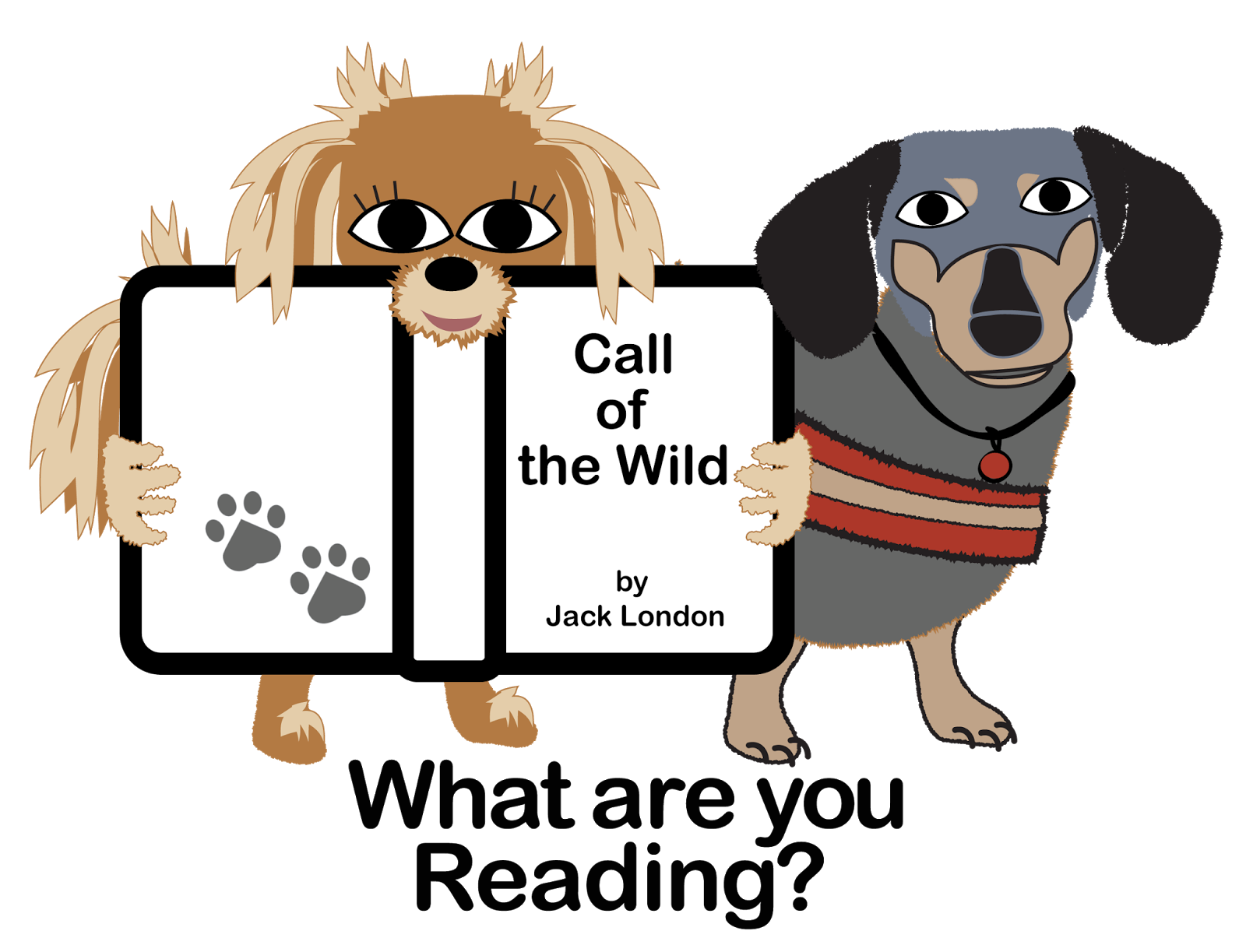 Library Advocate Wild And Crazy Dogs Love Adventure Books