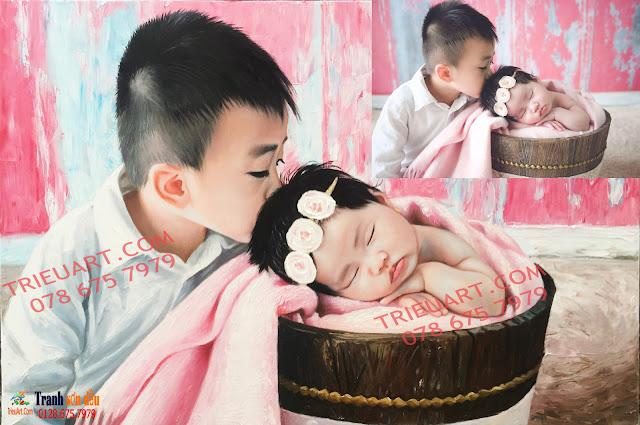 chân dung em bé