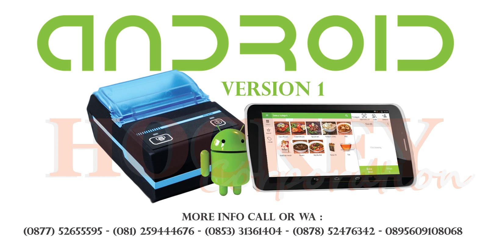 MESIN KASIR,ANDROID,TOUCHSCREEN,SCANNER BARCODE PRINTER,SOFTWARE KASIR,PERLENGKAPAN PERALATAN KASIR