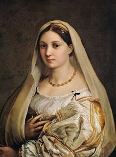 The Veiled Woman, or La Donna Velata - Raffaello Sanzio