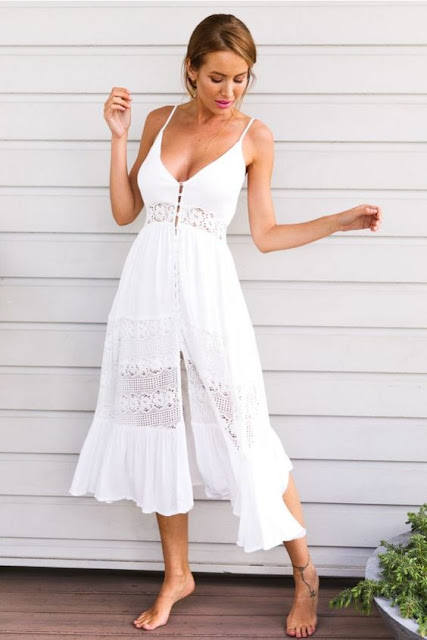 Maxi-Dress-White