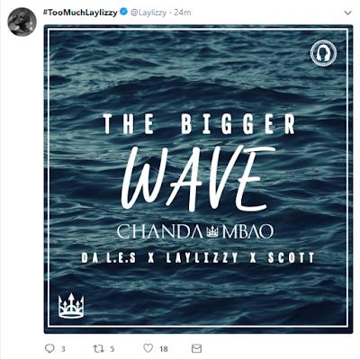 Laylizzy no próximo single do Da L.E.S intitulado The Bigger Wave