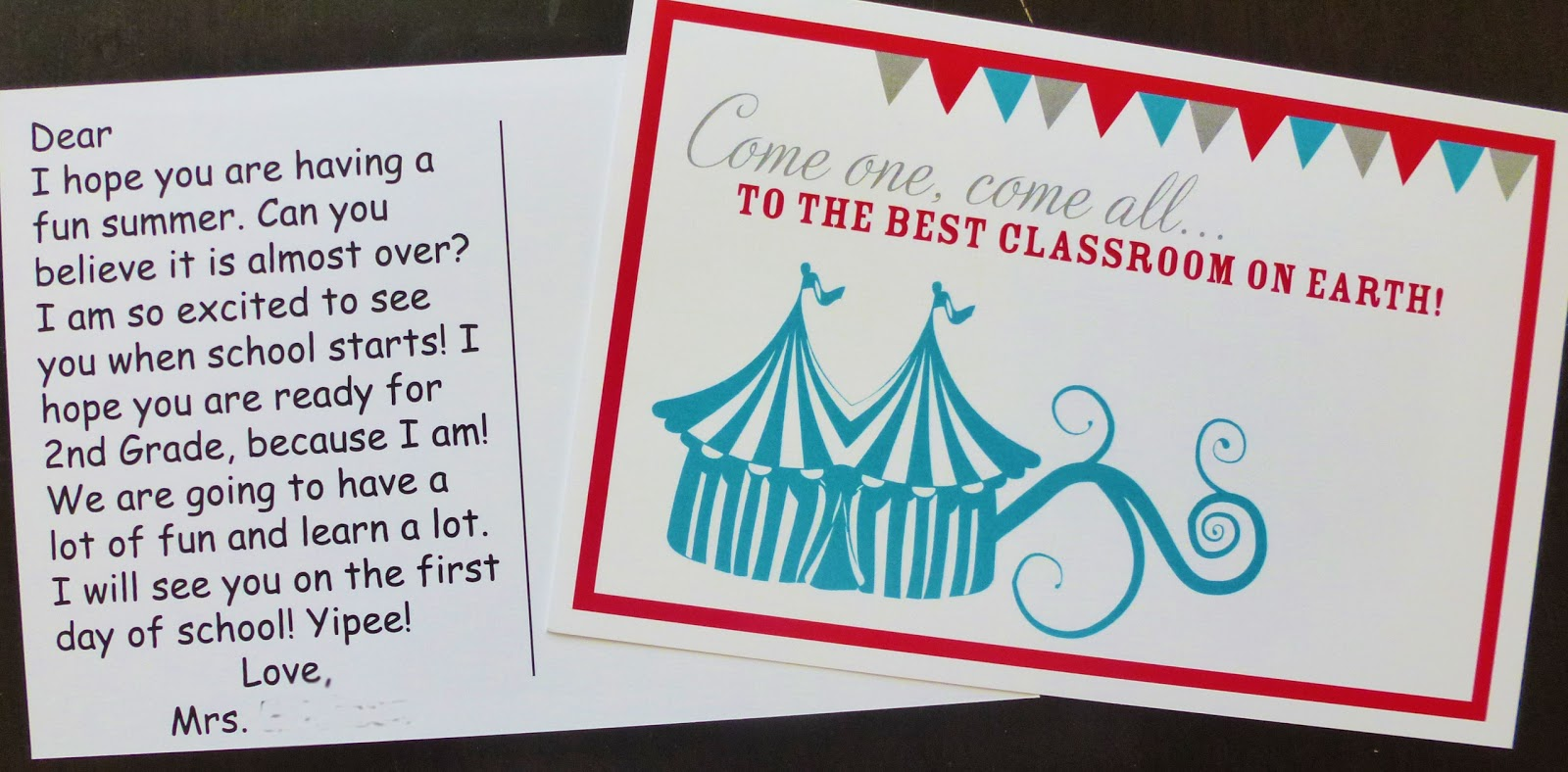 wish you were here postcard template - the teacher wife back to school postcard fun