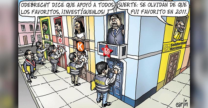 Carlincaturas Miércoles 17 Enero 2018 - La República