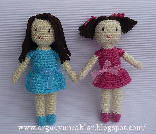 muñecas amigurimi, dolls croché, patrones para crochet, tutoriales