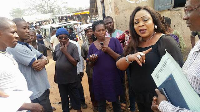 Abia State Commissioner for Transport, Barr. (Mrs.) Nnenna Obewu Onwuka