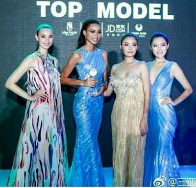 Wow! History made as Miss Nigeria wins Top Model at Miss World 2017; advances to top 40 (photos)
