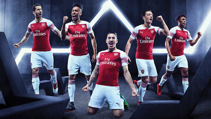 Arsenal 18 19 Home Kit Released Footy Headlines