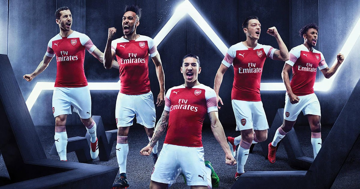 029345c7d Arsenal 18-19 Home Kit Released - Footy Headlines