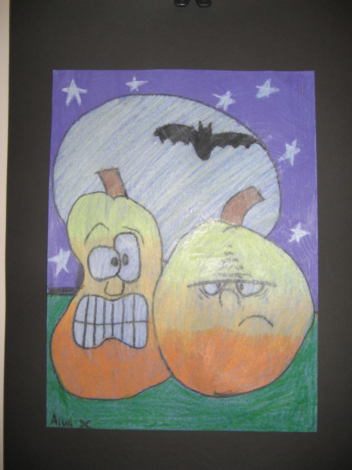 Jamestown Elementary Art Blog 2nd And 3rd Grade S Cartoon