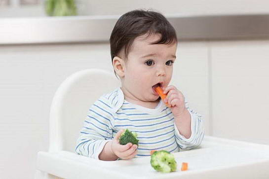 Tại sao nên tập cho trẻ ăn rau trước 14 tháng tuổi ?