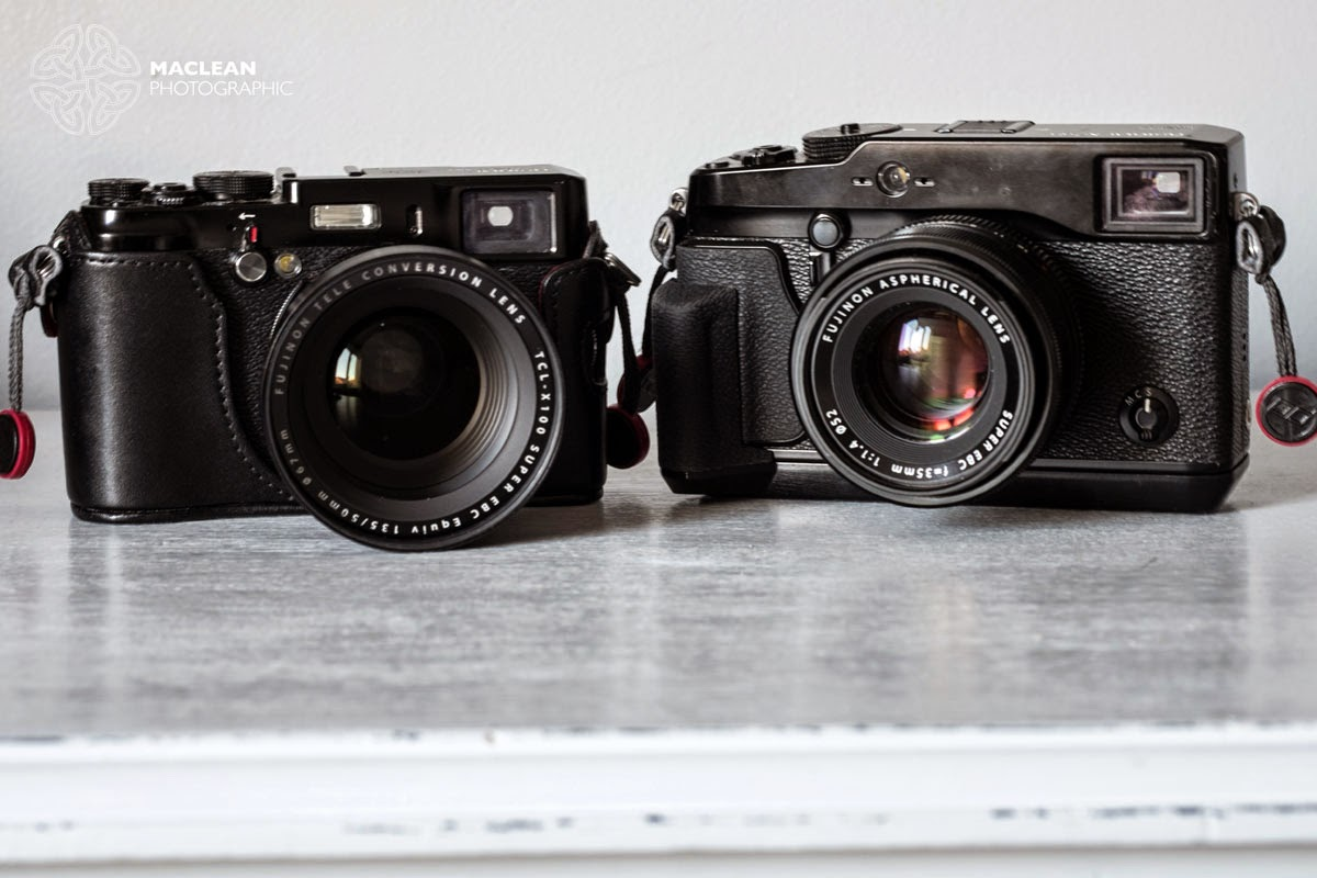 In April I Did A Comparison Test Between The Fujinon XF18mm F2R And WCL X100 Which Converts 23mm F2 Lens On To 19mm