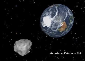 Enorme asteroide pasará cerca a la Tierra