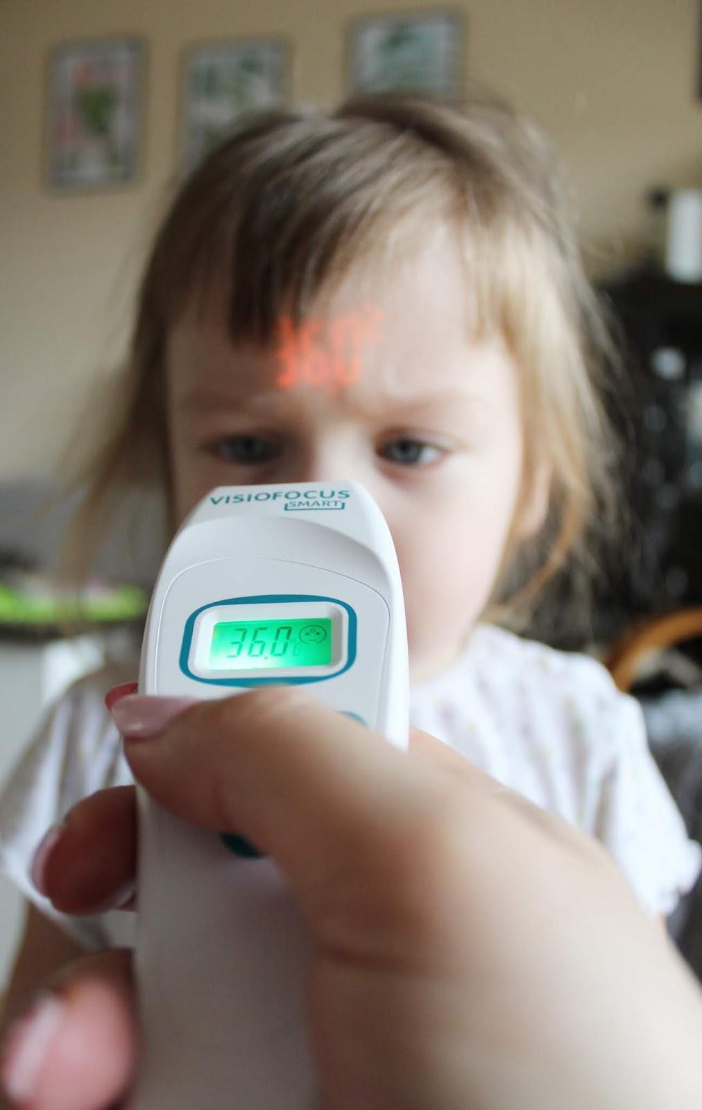 Visiofocus smart - dobry termometr dla dziecka, niemowlaka i dorosłego