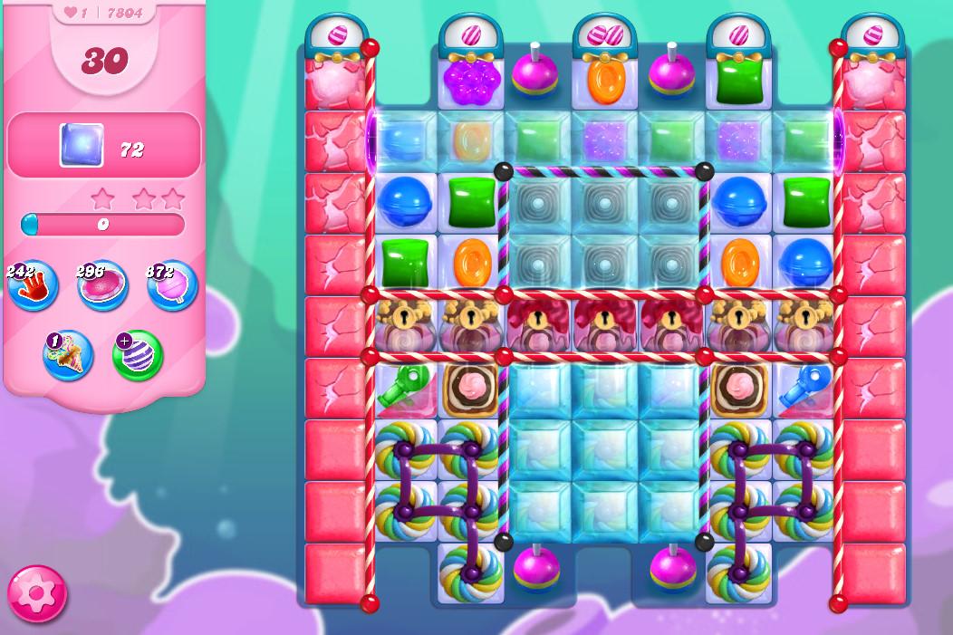 Candy Crush Saga level 7804