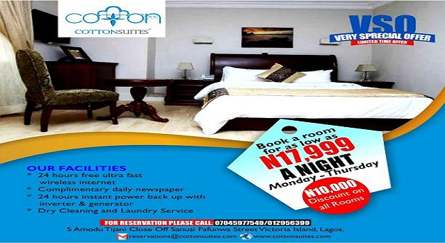 Cotton Suites Nigeria