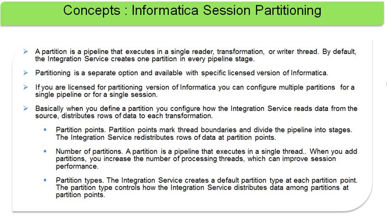 Informatica Session Partitioning Informatica Tutorials And