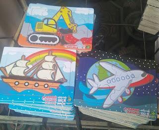 Puzzle Seri Transport isi 3 new