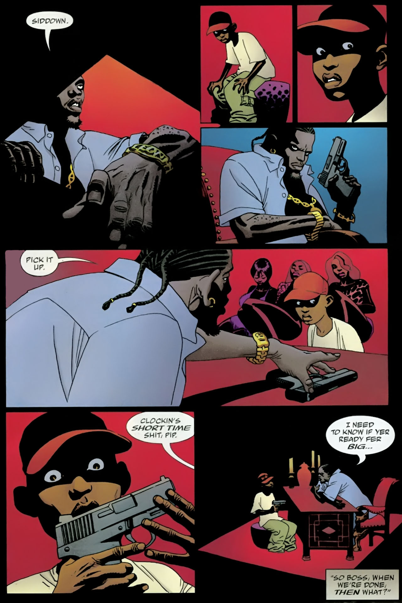 Read online 100 Bullets comic -  Issue #89 - 19