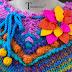 Crochet Crafts Handmade DIY - Rustic Shabby Chic French ...