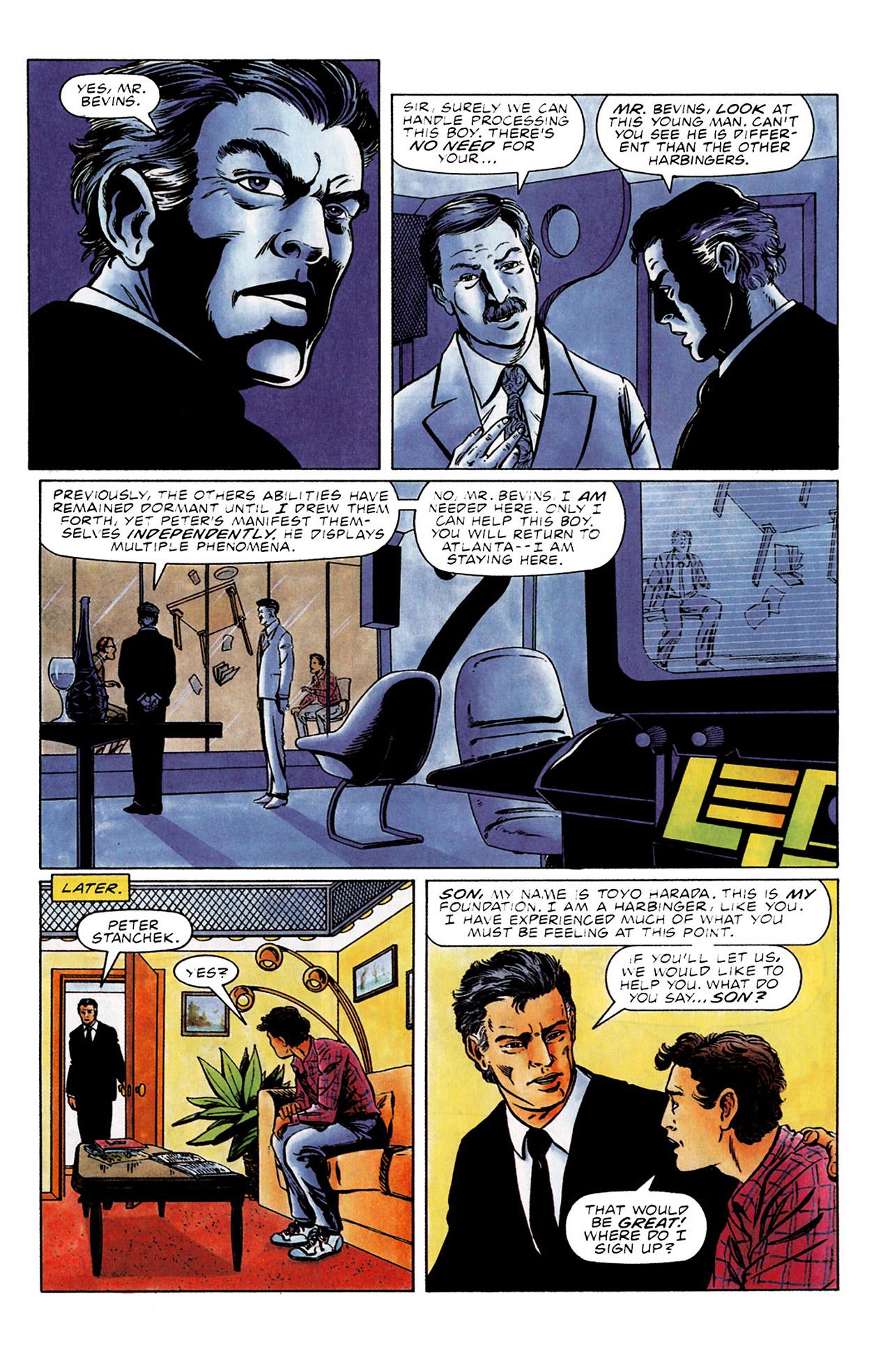 Read online Harbinger (1992) comic -  Issue #0 - 7