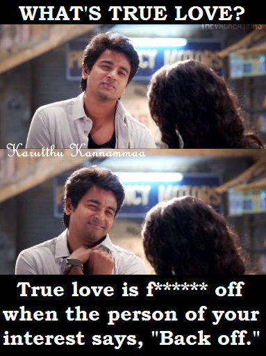Love Is Overrated Dont Believe The Love Tamil Cinema Portrays