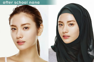 foto nana after school berhijab