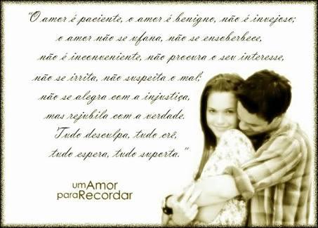 Frases Inspiradoras Um Amor Para Recordar Filme Mãetô Escrevendo