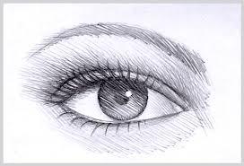 Easy Drawings Step By Step Eyes