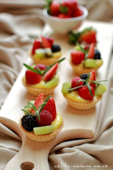 Resep Kue Pie Buah Mini Sederhana
