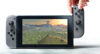 Nintendo Switch con tecnología Nvidea