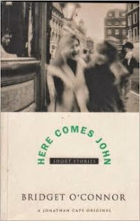 Front Cover for Short Story Collection Here Comes John by Bridget O'Connor