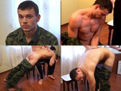 RusStraightGuys - Soldier Volodya 21 y.o. Hand spanking
