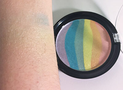 wet n wild coloricon Rainbow Highlighter Unicorn Glow swatch