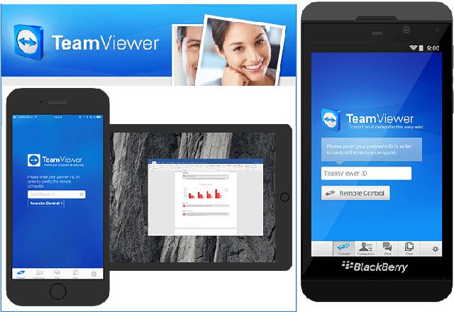 تحميل برنامج التحكم عن بُعد في الأجهزة الأخرى TeamViewer 13.1.3629 للويندوز والأندرويد مجانا
