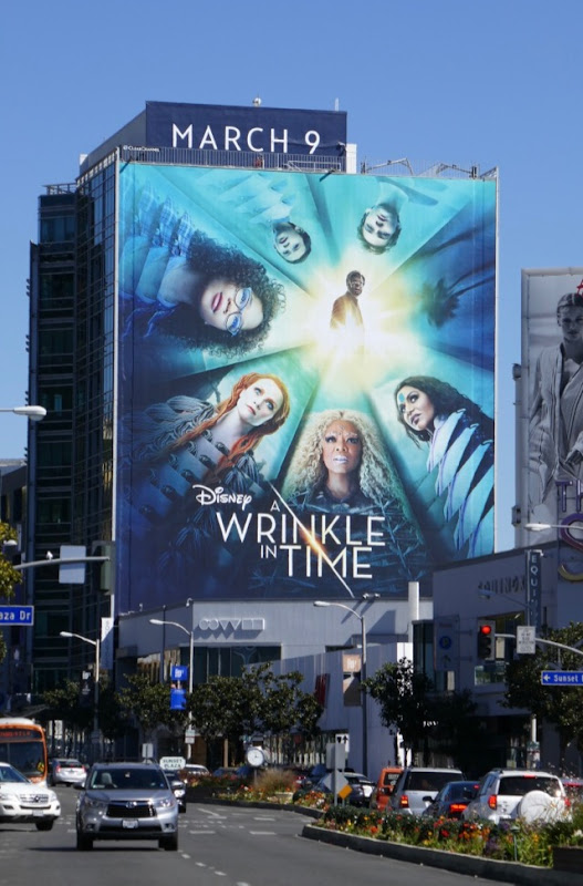 Giant Wrinkle in Time film billboard