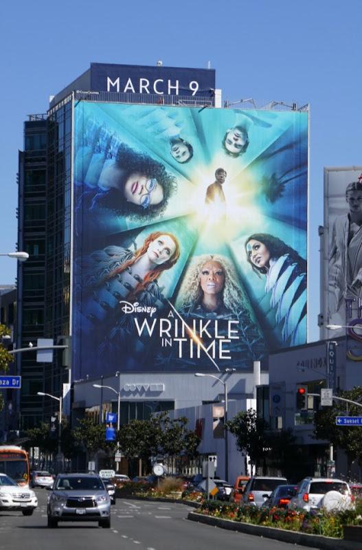 Giant Wrinkle in Time film billboard