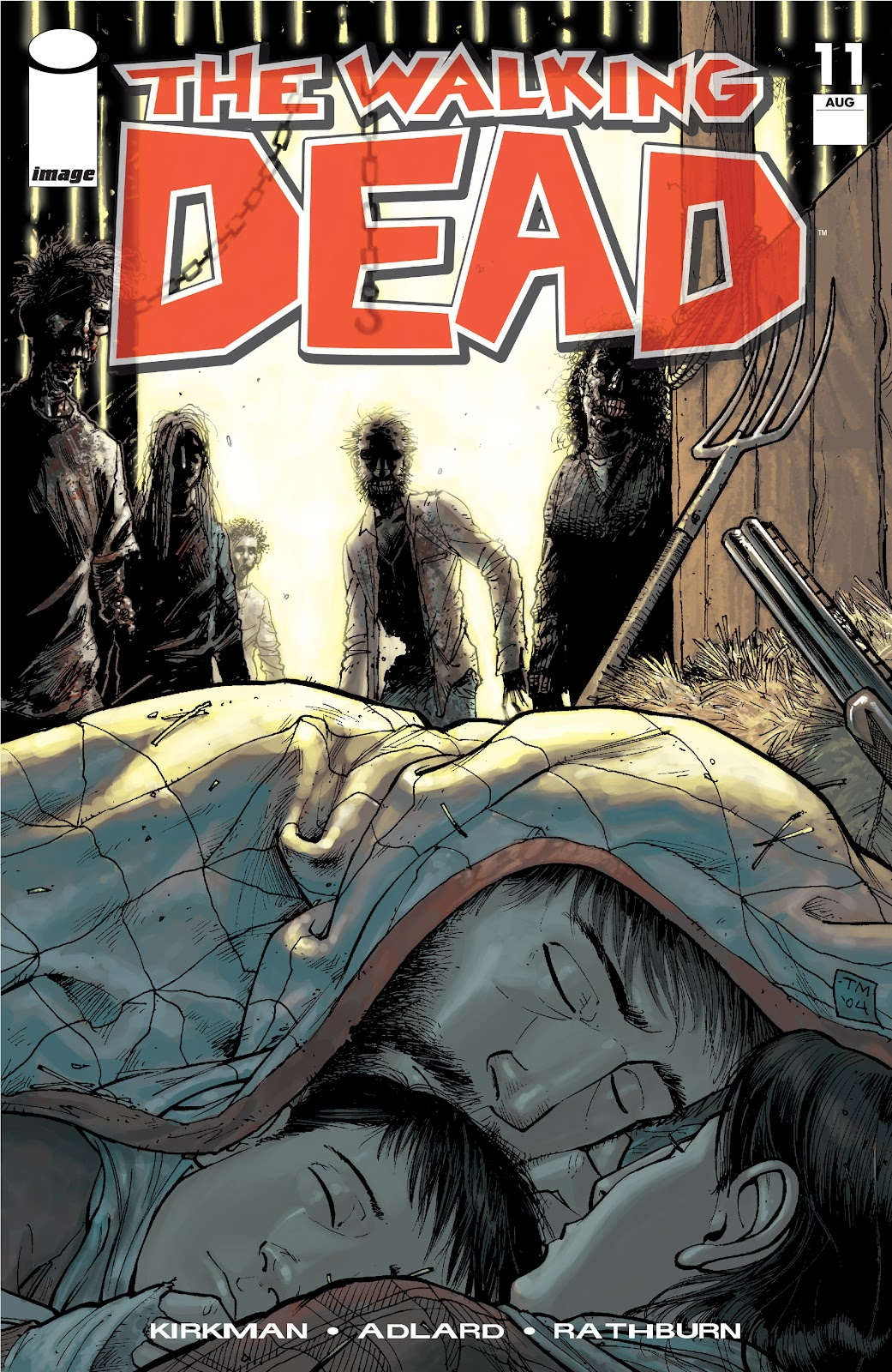 The Walking Dead issue 11 - Page 1