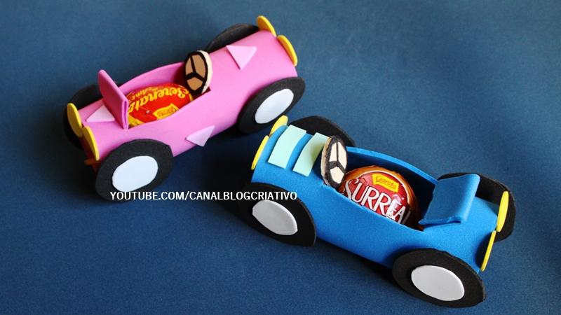 blog criativo diy lembrancinha festa carros de eva lembrancinha