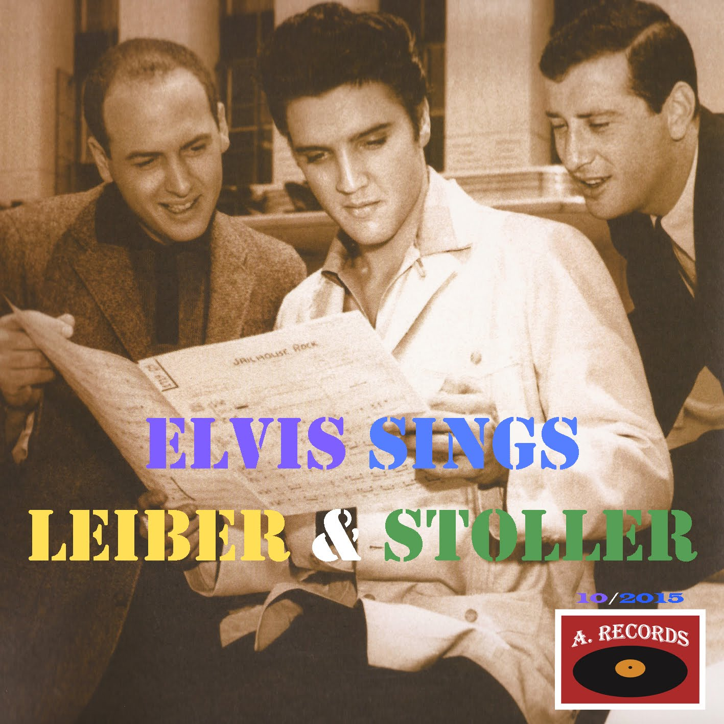 Elvis Sings Leiber & Stoller (October 2015)