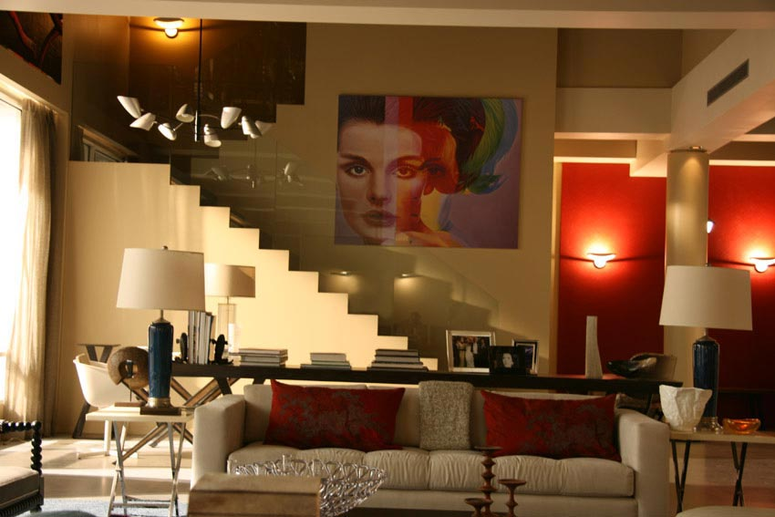 Interiores de Gossip Girl
