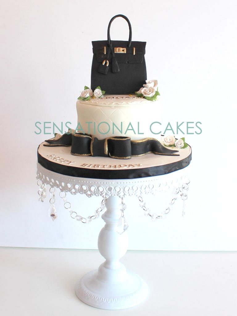 The Sensational Cakes: chanel 2.55 bag cake singapore , elegant cake ...