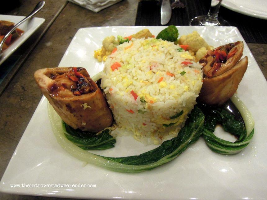 Spring rolls from Azure Restaurant of Ocean Suites Boutique Hotel Bohol
