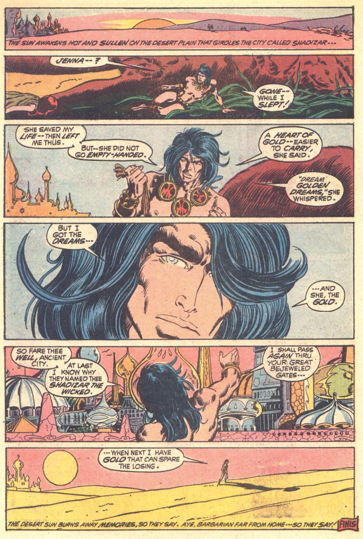 Conan the Barbarian (1970) Issue #6 #18 - English 21