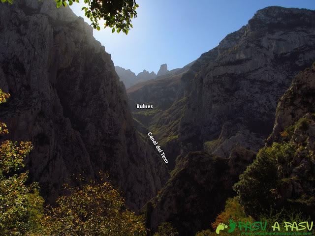 Vista del Urriellu desde el mirador de Camarmeña