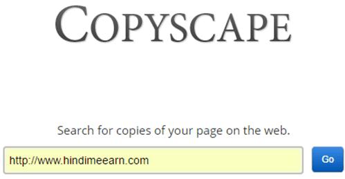 Copyspace Tool
